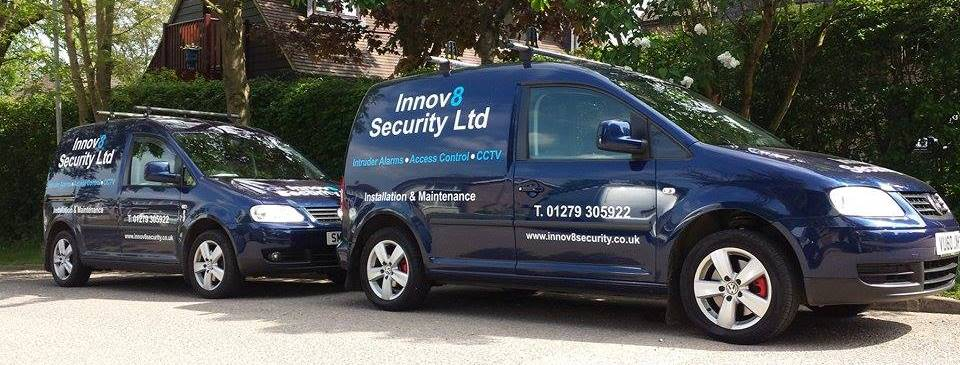 innovate security new vans
