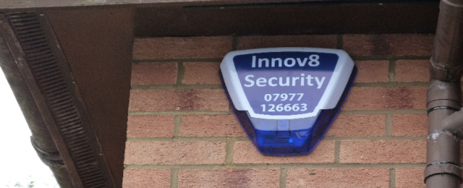 Innov8 Security Home Burglar Alarm